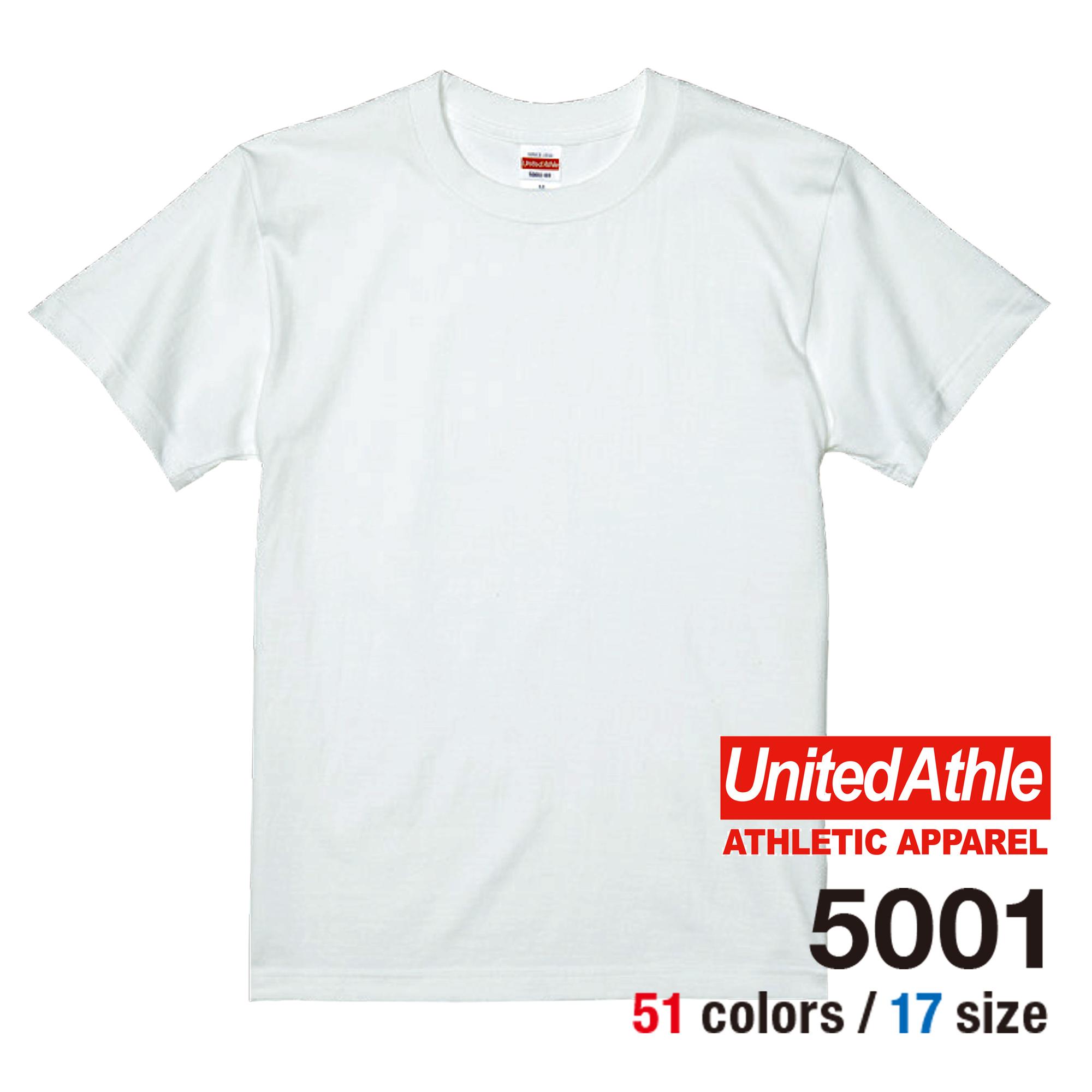 ユナイテッドアスレTシャツ5001